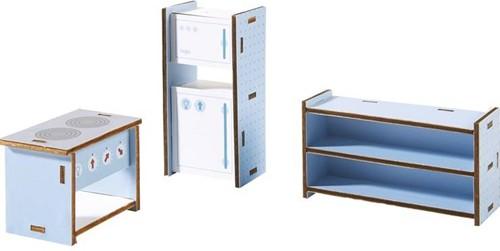 Haba  Little Friends houten poppenhuismeubels Keuken-1