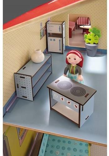 Haba  Little Friends houten poppenhuismeubels Keuken-3