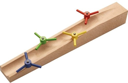Haba  houten knikkerbaan accessoires Uitbreiding Propellerhelling-1