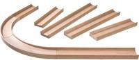 Haba  houten knikkerbaan accessoires Rollebollen Rechte baanstukken en bochten 300851-2