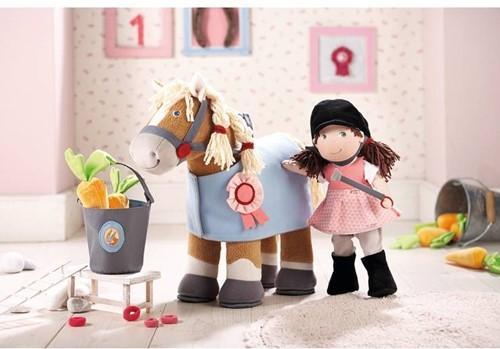 Haba Lilli and friends knuffelpop Paard leopold - 35 cm-2