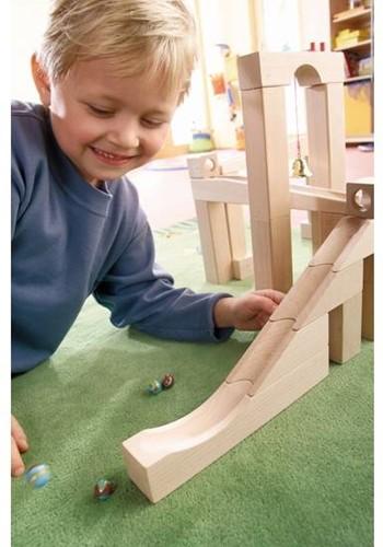 Haba  houten knikkerbaan accessoires Uitbreiding Schans 1098-2