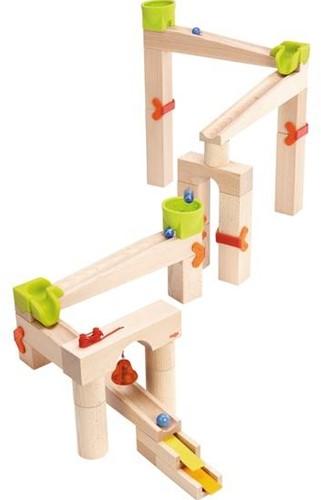 Haba  houten knikkerbaan set basisdoos Speed & sound 302331-1
