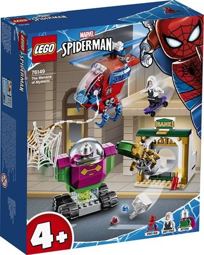 LEGO Marvel Super Heroes De dreiging van Mysterio - 76149