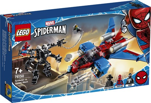 LEGO Marvel Super Heroes Spiderjet vs. Venom Mecha - 76150
