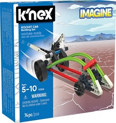 K'nex - constructie - Rocket car