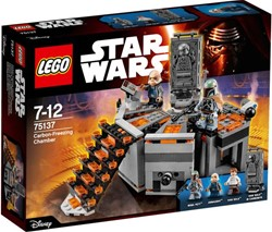 Lego  Star Wars set Carbon vriesruimte 75137