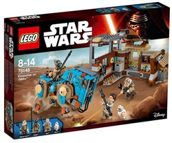 Lego  Star Wars set Encounter on Jakku 75148