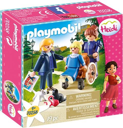 Playmobil Heidi - Klara met vader en juf Rottenmeier 70258