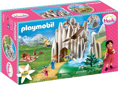 Playmobil Heidi - Heidi, Klara en Peter bij het meer 70254