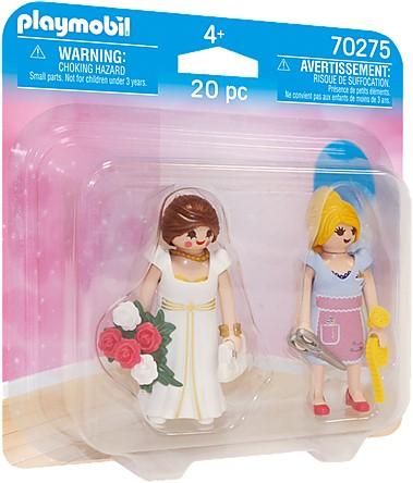 Playmobil Duo Packs - Prinses en kleermaker 70275