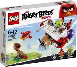 Lego  Angry Birds set Piggy vliegtuigaanval 75822