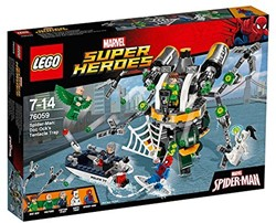 Lego  Super Heroes set Spiderman: Doc Ock's Trap 76059
