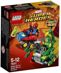 Lego  Super Heroes set Mighty Micros Spider-Man vs. Scorpion 76071