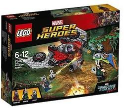 Lego  Super Heroes set Ayeshas Revenge 76079