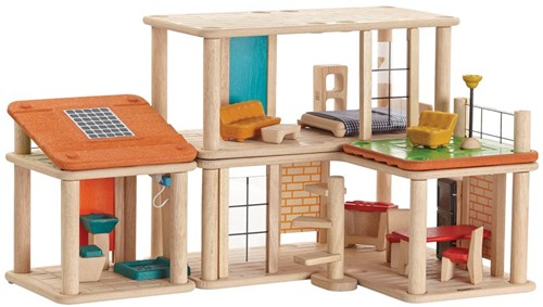 Plan Toys  houten poppenhuis Creative Play house