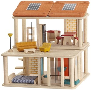 Image of Plan Toys houten poppenhuis Creative Play house