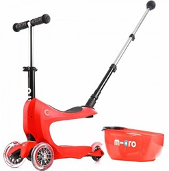 Micro  Mini loopfiets Mini2go Deluxe Plus rood