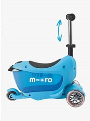 Micro  Mini loopfiets Mini2go Deluxe Plus blauw