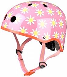 Micro Step helm bloemen maat S