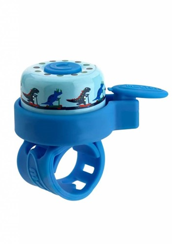 Micro bel blauw dino