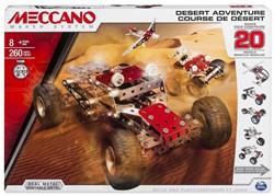 Meccano  constructie speelgoed Desert Adventure