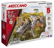 Meccano  constructie speelgoed Multi safari 5 in 1