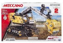 Meccano  constructie speelgoed Construction digger