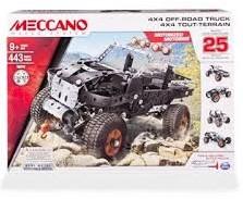 Meccano - Modelauto - Multi 25in1 Truck 323+