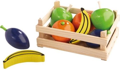 Haba houten keuken accessoires Fruitkistje 7801