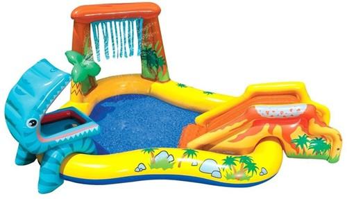 Intex Zwembad Playcenter Dinosaur, 249x191x109cm