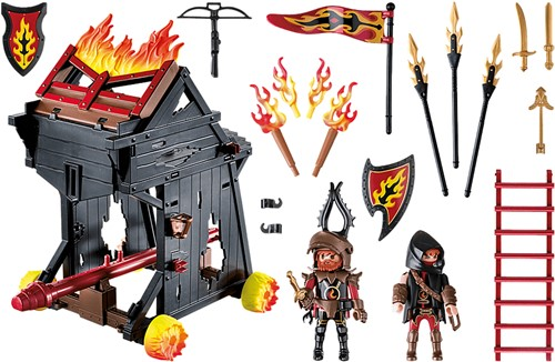 Playmobil Novelmore - Burnham Raiders vurige stormram  70393