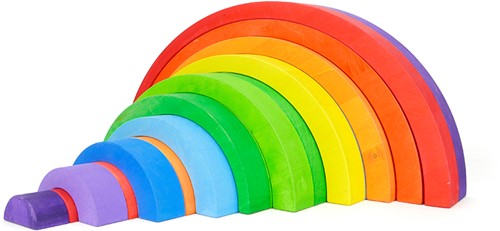 Bajo Regenboog groot kleur