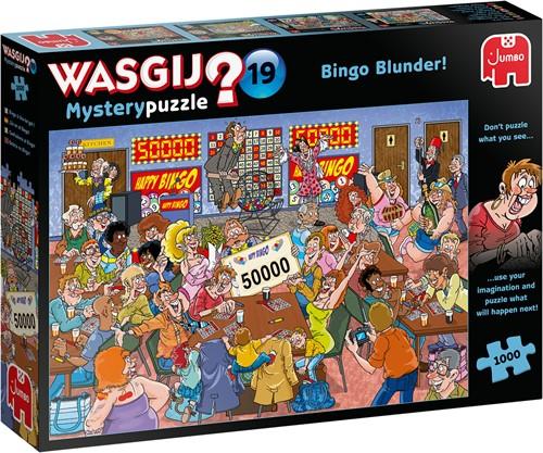 Jumbo puzzel Wasgij Mystery 19 INT - 1000 stukjes