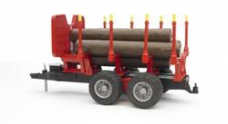 Bruder  - Bomentransportwagen met bomen