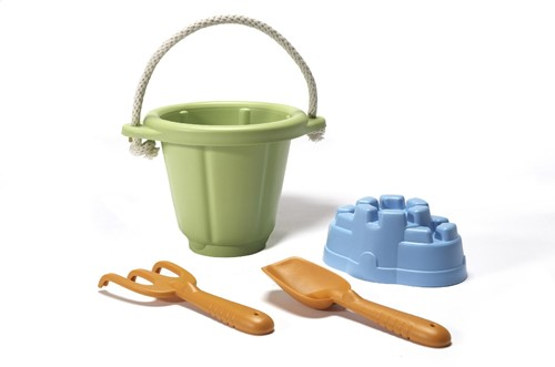 Green Toys Sand Play Set - GREEN BUCKET