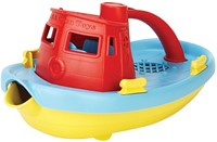 Green Toys Tugboat (Red)-1