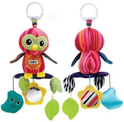 Lamaze  box en maxi cosi speelgoed Olivia de Uil