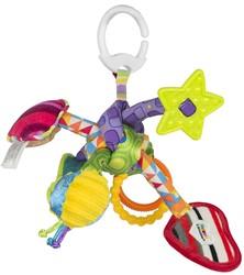 Lamaze  box en maxi cosi speelgoed Trek en speel knoop