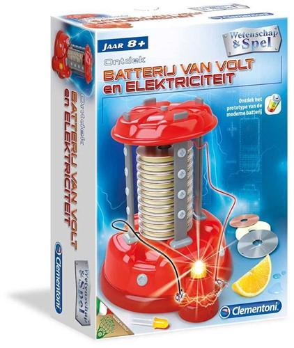 Clementoni  Wetenschap Elektriciteit 8+-1