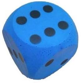 Planet Happy buitenspeelgoed Foam dobbelsteen blauw
