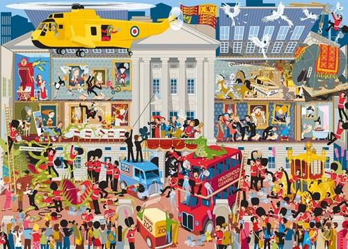 Gibsons puzzel Lifting the Lid, Buckingham Palace - 1000 stukjes