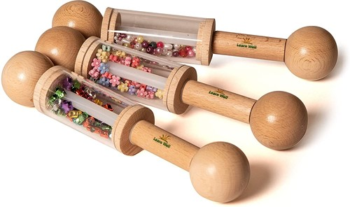 Learn Well Mini Rattle Rollers (Set of 3)
