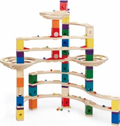 Hape Quadrilla houten knikkerbaan set The challenger