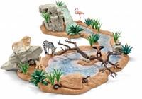 Schleich Safari - Groot Avontuur- Wasplaats  42321