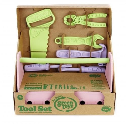 Green Toys Tool Set (Pink)-1