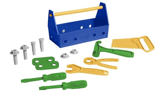 Green Toys Tool Set (Blue)-1