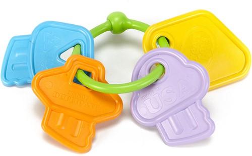 Green Toys - Rammelaar Sleutels