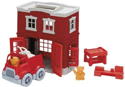 Green Toys  speelvoertuig Fire Station Playset