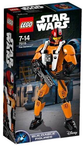 Lego  Star Wars set Poe Dameron 75115